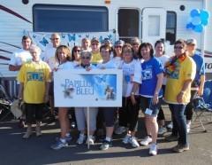 2014 Relay For Life Ambassador Team The Blue Butterflies